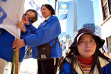 Falun Gong supporters