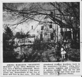 Boarding House Photo from Newspaper Article