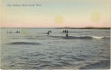 Brant Rock - Bathers - Postmark 1912
