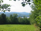 Crystal Lake from Canney Hill Road - Gilmanton Iron Works