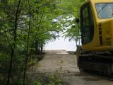 Work on the Boat Ramp - May 19, 2006