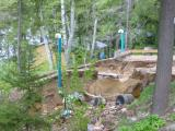 New Septic System Devastated by Deluge - May 2006