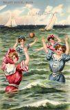 Girls on the Beach #1