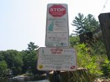 Sign at Suncook Boat Ramp