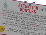 Sign for Boaters