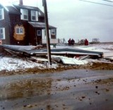 Ocean Bluff - Blizzard of '78 - photo by George Earle