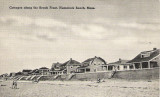 Humarock ~ Cottages on the Beachfront ~ Postmark 1948