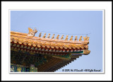 A Roof Detail at the Forbidden City