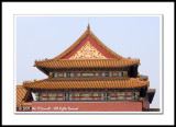 A Building Detail at the Forbidden City