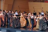 The Joffrey Ballet performs Romeo and Juliet in the Jay Pritzker Pavilion