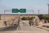 Highway in the Atacama Desert