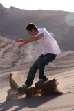 Sandboarding in Valle de la Muerte
