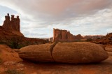 Arches NP -- lower end of Park Avenue trail