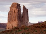 Arches NP -- Courthouse Towers