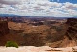 Canyonlands -- overview near Mesa arch