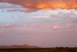 Sunset over the (southern) Organ Mountains