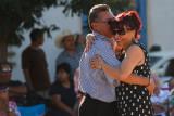 Dancing to Mariachi music