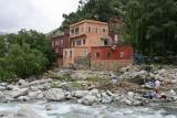 Berber village in foothills of Atlas Mts.