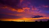 Sunset at Wolka Horyniecka