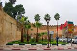 The City Walls in Meknes
