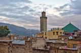 Minaret in the Medina of Fez