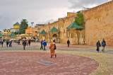 El-Hdim Square in Meknes