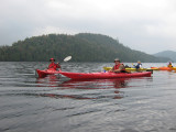 Kayaking Henderson Lake