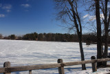 Snow Covered LakeFebruary 24, 2009