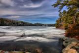 HDR of Lake Minnewaska