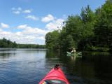 Kayaking Dunham ReservoirJuly 12, 2009