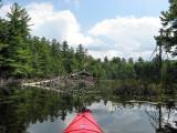 Kayaking Osgood PondAugust 15, 2009