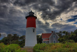 Naucet Lighthouse in HDR