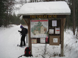Trailhead for Snowshoe TripJanuary 15, 2011