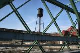 Peebles Island Bridge and Water Tower