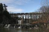 Railroad Bridges, Dam and WaterfallsMarch 13, 2008