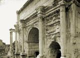 ARC DE SEPTIME SEVERE AU FORUM ROMAIN
