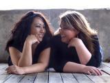 Dennise and Stephanie