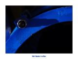 Bolt shadow in Blue