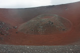 Inside the volcanic cone