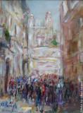 Via Condotti, by Stellario Baccellieri, 2002