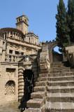 La scalinata dell'Acropoli. Particolare.