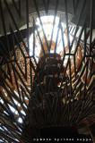 La Buzziana: la scenografica scala della Torre di Babele