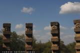 La Buzziana: particolare del Tempio di Apollo