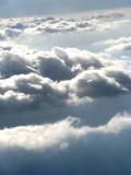 Clouds scenery over Atlantic Ocean / Paisaje de Nubes sobre el Océano Atlántico