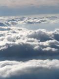 Clouds scenery over Europe / Paisaje de Nubes sobre Europa