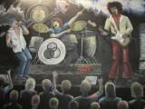 Rock Band Mural 2010