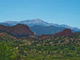 Garden of the Gods  With Pikes Peak-1558