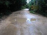 Local road, this time in good condition