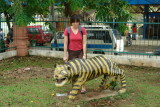 Taman mini-Indonesia - come on, get on, its not THAT dangerous