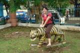 Taman mini-Indonesia - looks uncomfortable....